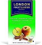 ロンドンフルーツ&ハーブ ティーバッグ アップル&シナモンツイスト 20袋