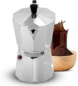 Royalford - Cafetera italiana para café espresso – Macchinetta ...