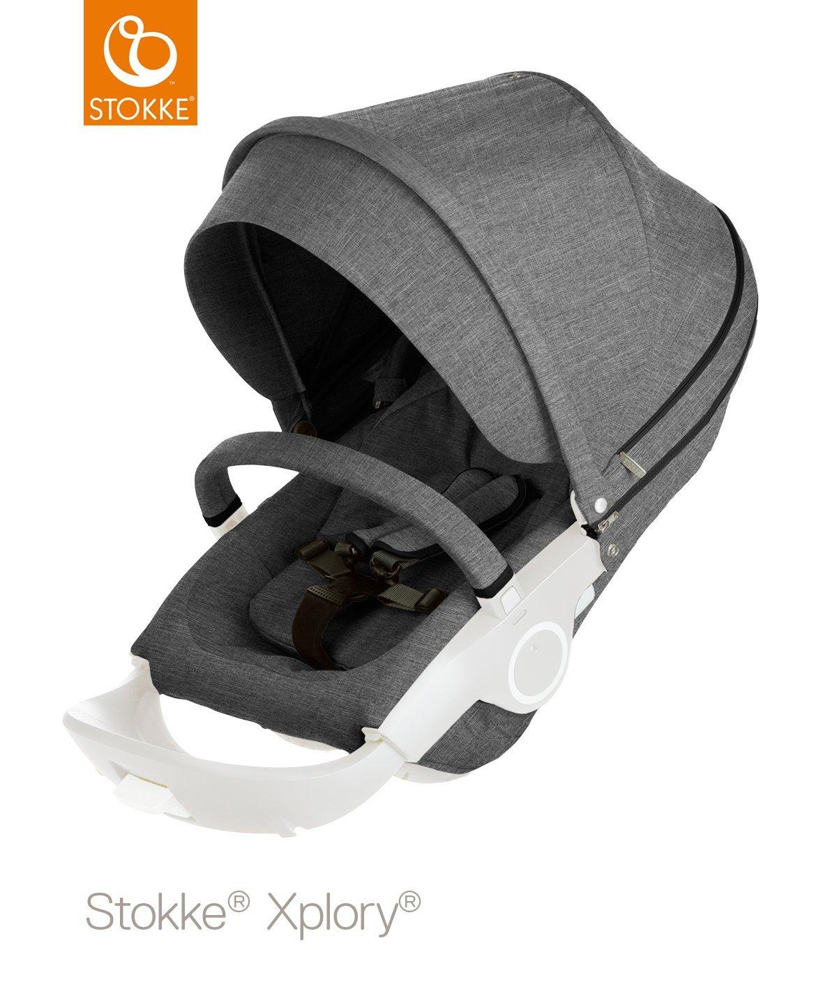 Stokke Stroller Seat Textile Set, Red