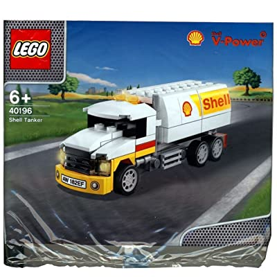 2014 The New Shell V-power Lego Collection Shell Tanker 40196 Limited Edition Sealed
