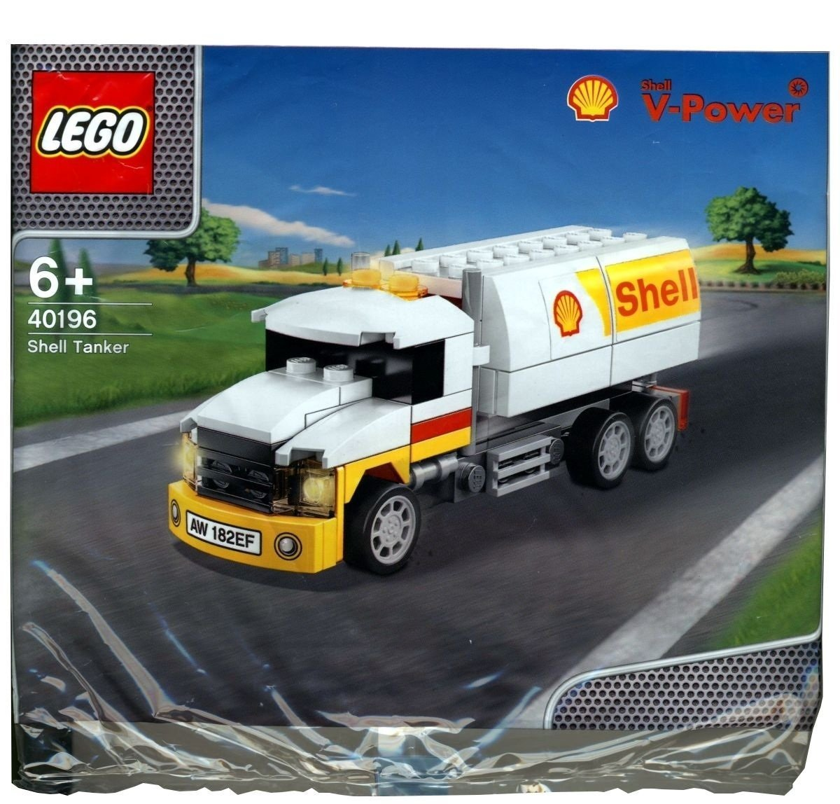 2014 The New Shell V-power Lego Collection Shell Tanker 40196 Limited Edition Sealed by LEGO