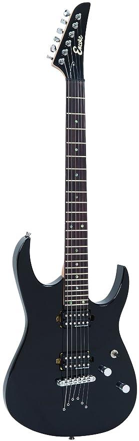 Encore EBP-E89BLK paquete de la guitarra de rock