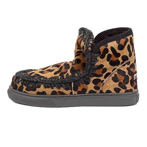 Mou borse Black Eskimo e Leopard Boot Sneaker Scarpe 39 it Amazon wfTRwAqg 9cb02b63ccc2
