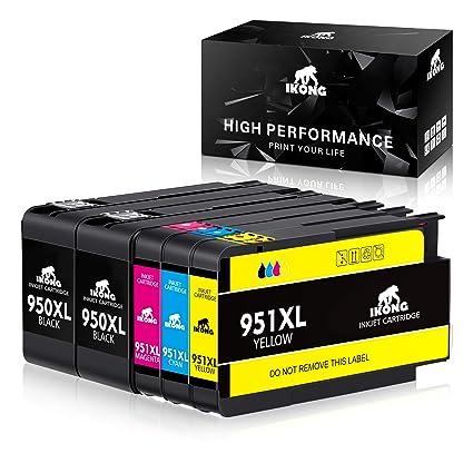 IKONG 950 XL 951 XL Cartuchos de Tinta para HP 950XL 951XL ...