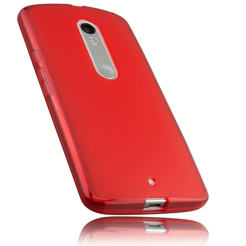 mumbi Schutzhülle Motorola Moto X Play Hülle grün HandyNow.de 12426-Motorola-Moto-X-Play