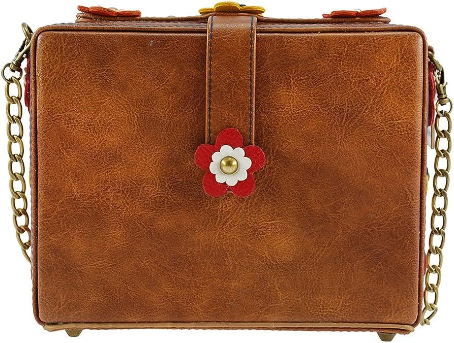 Mary Frances Regal Beagle Dog Puppy Pup Brown White SPRING Bag Handbag NEW