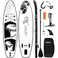 """Inflatable Stand Up Paddle Board 11'×33""""×6"""" SUP with Complete Premium Accessories, Wide Stance, Surf Control, Two-Way…"""