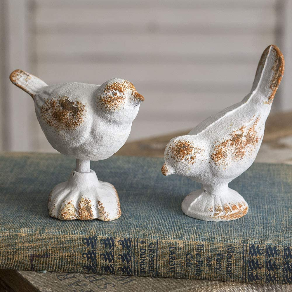 CTW Home Collection Set of Two Cast Iron Birds