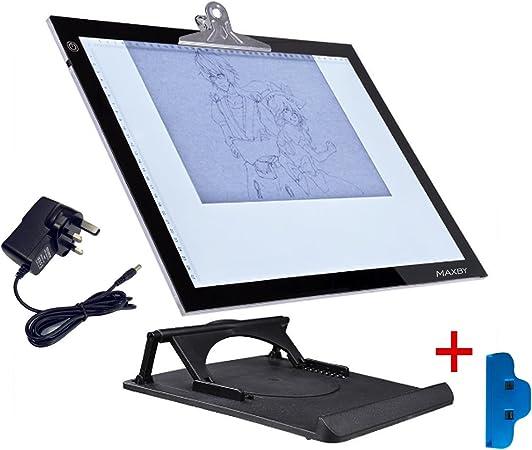 LED Tracing Light Box Board Art Tattoo A4 Drawing Pad Table Stencil Display NS