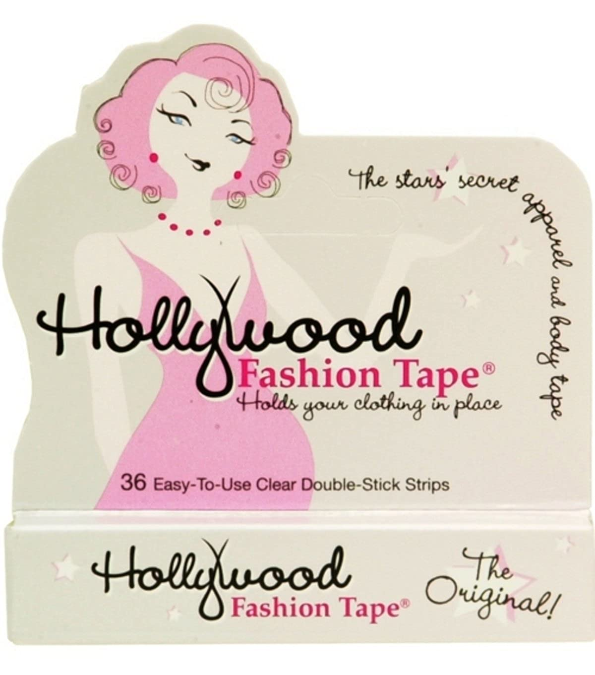 Hollywood Fashion Tape Double-Stick Strips, 36 strips Hollywood Fashion Secrets