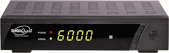 Digiquest RICD1192 1sintonizador(es) Alámbrico Negro - Decodificador (Negro, Alámbrico)