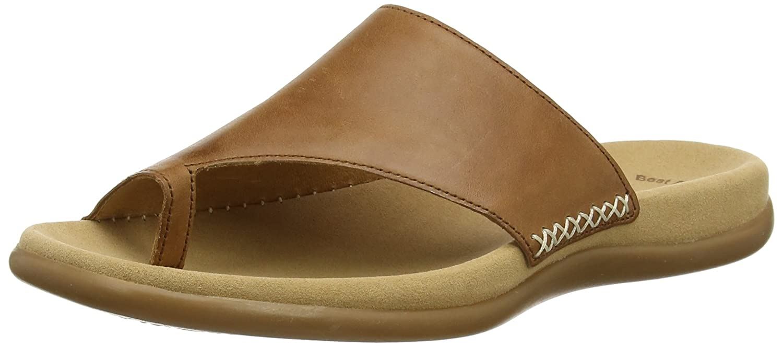 Gabor Shoes Fashion, Mules para Mujer 44 EU|Marrón (Peanut 24)