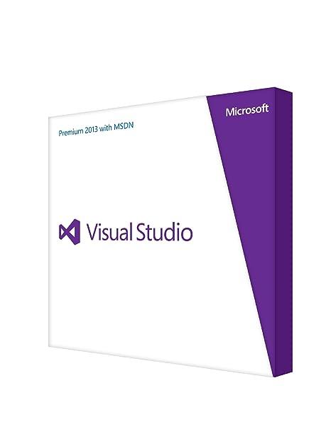 Microsoft Visual Studio Prem w/MSDN Retail 2013 English