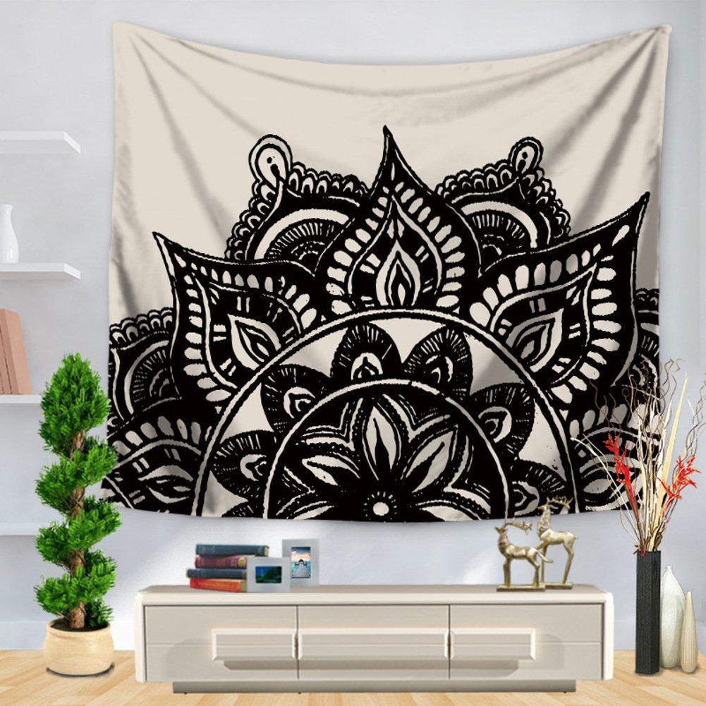 Tapestry, líneas pintadas, decoración casera que cuelga el paño, toalla de playa, cojín de playa-D 150*130: Amazon.es: Hogar
