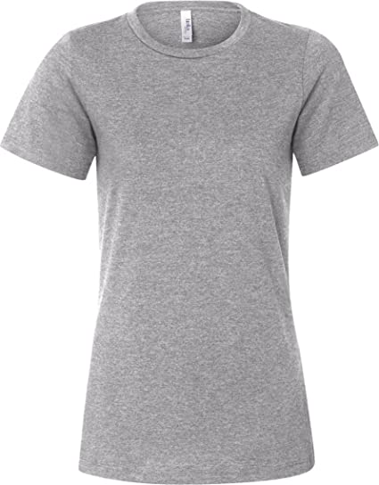 43e91f38 B6400 Bella + Canvas Ladies' Relaxed Jersey Short-Sleeve Tee (Athletic  Heather (