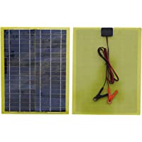 ECO-WORTHY Kit de panel solar epoxi portátil de 12 V 20 W con módulo solar de 20 W con controlador PWM de 10 A.