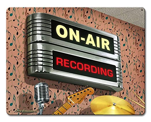 Harvesthouse Losea On Air Recording Retro Vintage Tin Signs ...