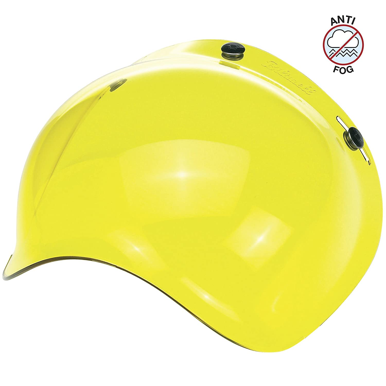 BS-SMK-AF-SD One Size Bubble Shield-Smoke-Anti-Fog Biltwell Unisex-Adult