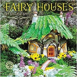 fairy houses 2019 wall calendar