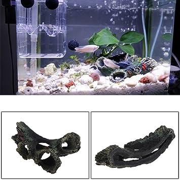 Dabixx Adorno de resina para acuario, diseño de árbol artificial: Amazon.es: Hogar