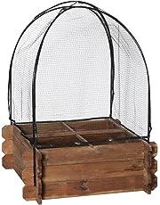 Catral 75010004 - funda invernadero y antipajaros para huerto seed 80, 90x68x68cm