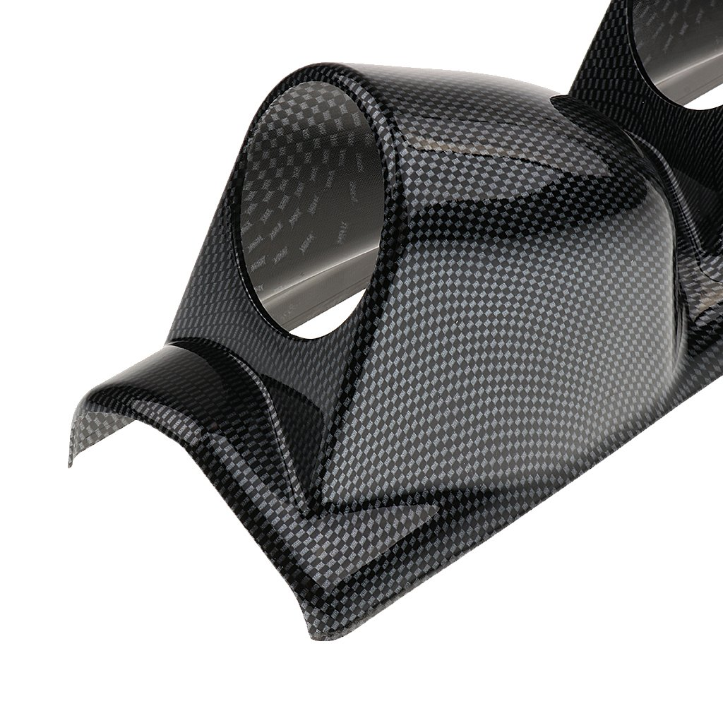 Carbon Fiber Right 3 Holes Dolity 2.5 Inch Car A Pillar Pod Triple 3 Holes Gauge Mount Holder Right//Left Hand Drive