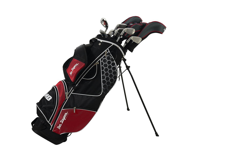 Ben Sayers M8 Juego Completo de Palos de Golf, Color Rojo ...