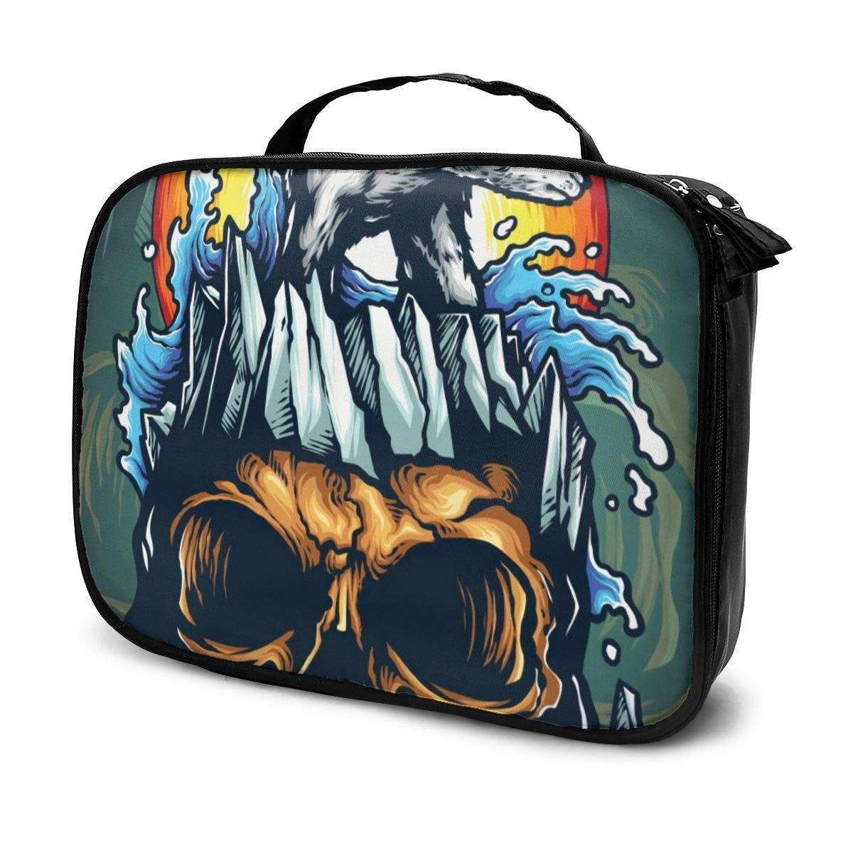 Amazon.com : Cosmetic bags for women travel, Vector ...