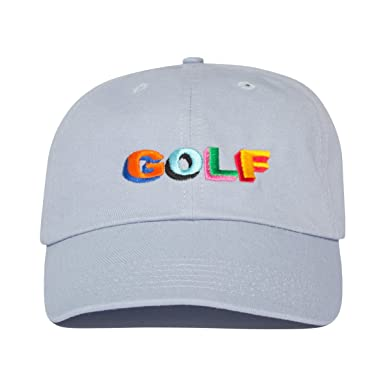 65d738ef256 Unofficial Tyler The Creator GOLF Hat - Baby Blue  Amazon.co.uk  Clothing