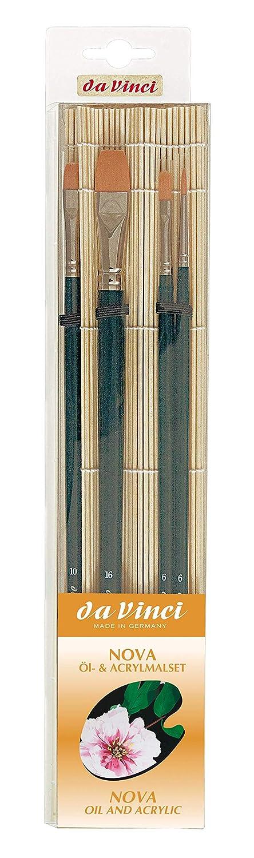 Da Vinci 5324 Serie Pinsel-Set Transparent//Orange 30 x 30 x 30 cm