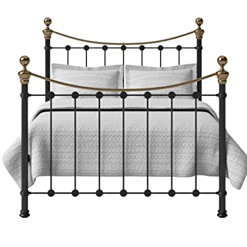 Original Bed Co Selkirk Iron And Brass Bed Frame With High Grade