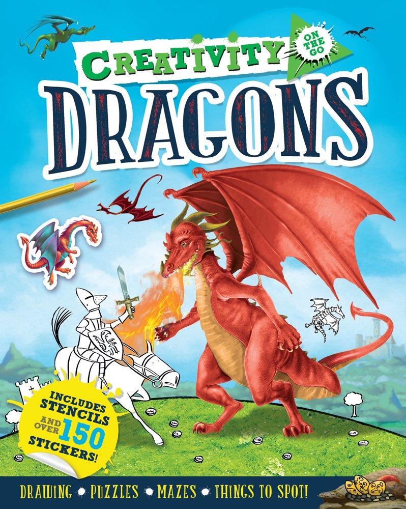Creativity on the Go: Dragons ebook