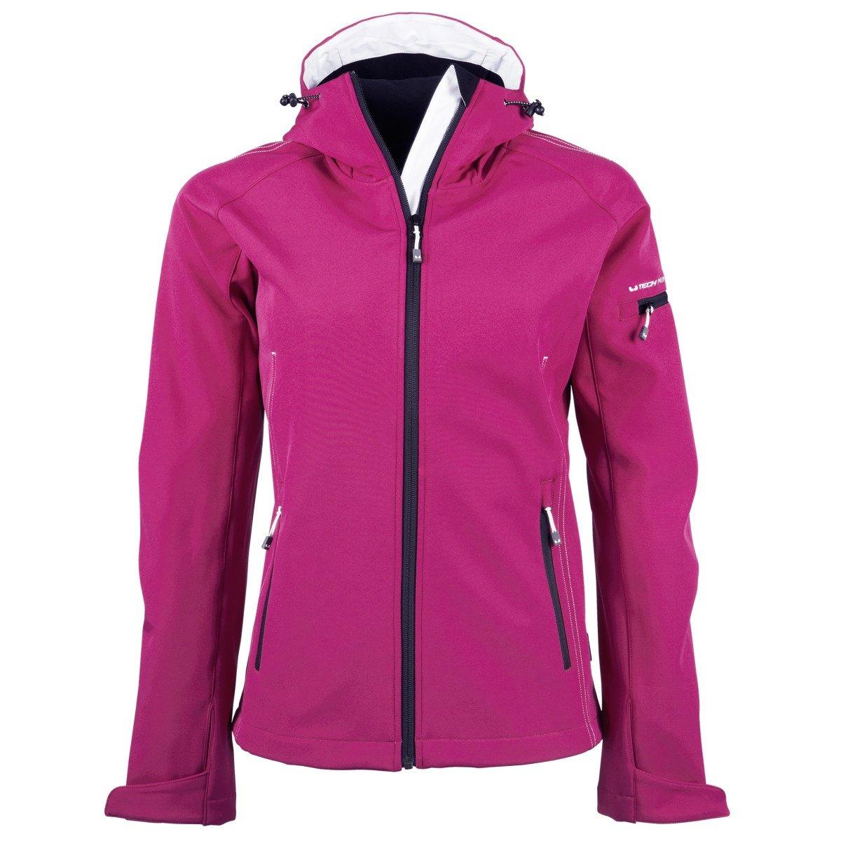 Softshell At Tee Womensladies Jacket Hooded Fashion Jays 8n0ZONkXwP