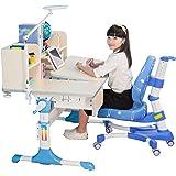 心家宜-大号手摇机械升降儿童学习桌椅套装 M102_M200