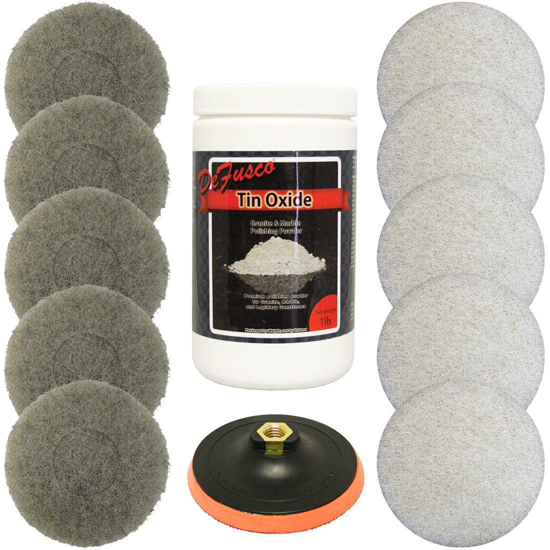 Tin Oxide Bundle With Backer Pad For Polishing by Norton Abrasives - St. Gobain