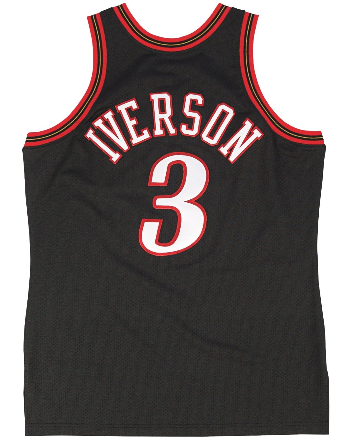 newest 50132 bcd52 Amazon.com : Mitchell & Ness Allen Iverson Philadelphia ...