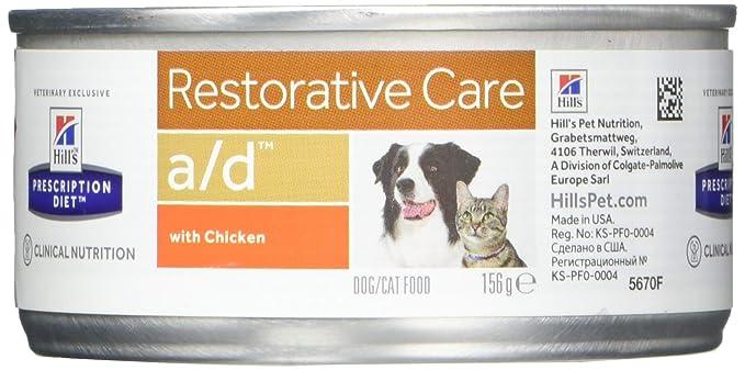 Amazon.com: Dieta recetada para perros/gatos de Hills A/D ...
