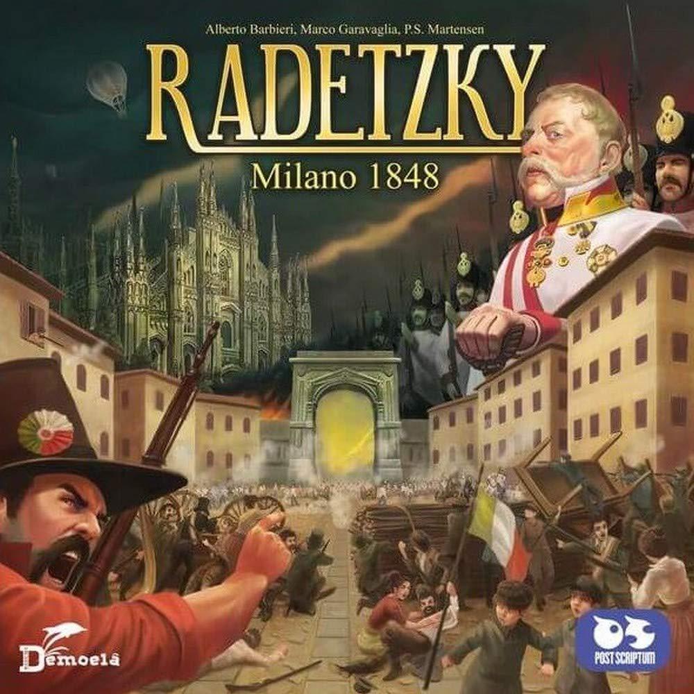 machebelcarrello RADETZKY 1848 Spielbrett Milano farbig 8034063230892