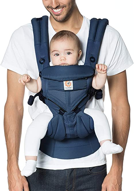 You+Me 4-in-1 Convertible Baby Carrier With 3D Cool Air Mesh Wear with a Newborn