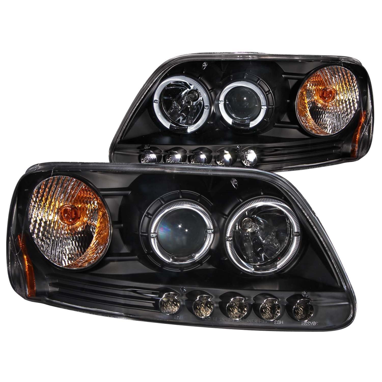Amazon 1997 2003 Ford F150 Halo Projector Headlights 8 Led