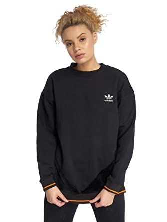 91ed6959 adidas Originals CLRDO Sweater Sweater 10 Reg Black at Amazon Women's  Clothing store: