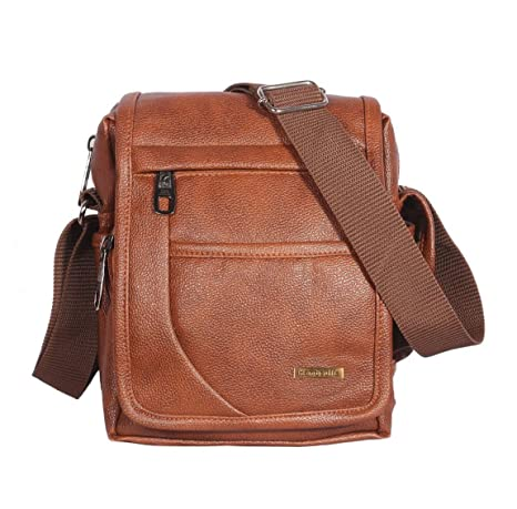 Buy Handcuffs Mens Bag Messenger Bag Leather Shoulder Bags Travel Bag Man  Purse Crossbody Bags for Work Business (BFSLNG30)- 10 Inch Online at Low  Prices in ... 747773c5d38bd