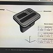 Skoda 000051435AD Universalhalter f/ür Multimediager/äte Mittelkonsole Halterung