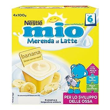 Nestlé My Merenda Milk Banana 4x100g