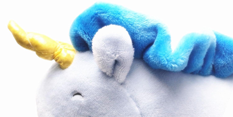 Blau KiKa Monkey Einhorn Pl/üschtiere Weiches Kissen