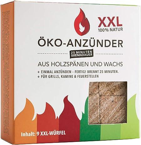 28 Würfel 1 x Ökologischer Grill /& Kaminanzünder 1 Päckchen