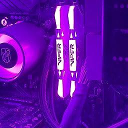 Amazon Patriot Viper Gaming デスクトップ用rgbシリーズddr4 Dram 3000mhz 16gbキット ホワイト Patriot メモリ 通販