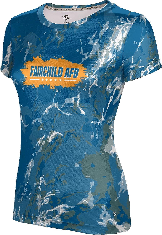 ProSphere Women's Fairchild AFB Military Marble Tech Tee