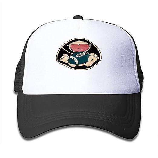 8df6872b0ebda Amazon.com  HHNYL Mesh Cap Naughty Baby Trucker Hats Baseball caps  Adjustable for Kids Toddler  Clothing