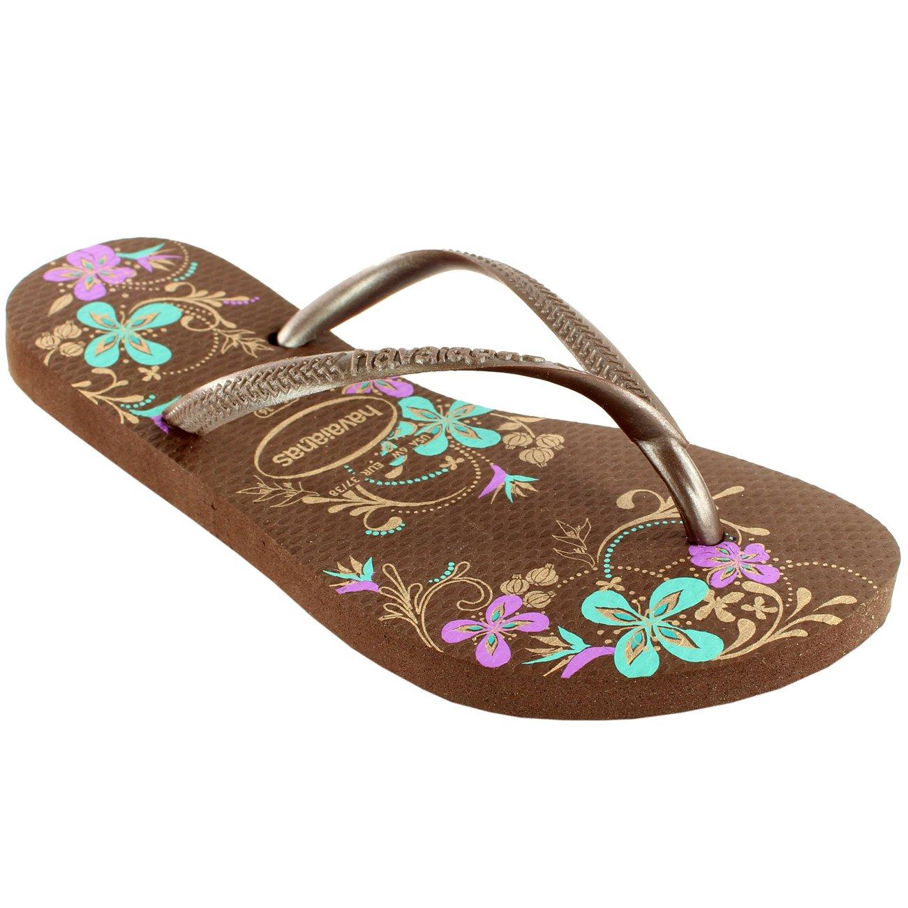 7b07148df87c Havaianas Womens Slim Season Beach Flip Flops Summer Sandals New UK Sizes  1-8  Amazon.co.uk  Shoes   Bags
